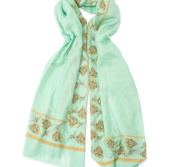 Arabic calligraphy scarf