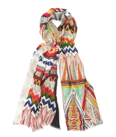 Kilim multi-colour Scarf